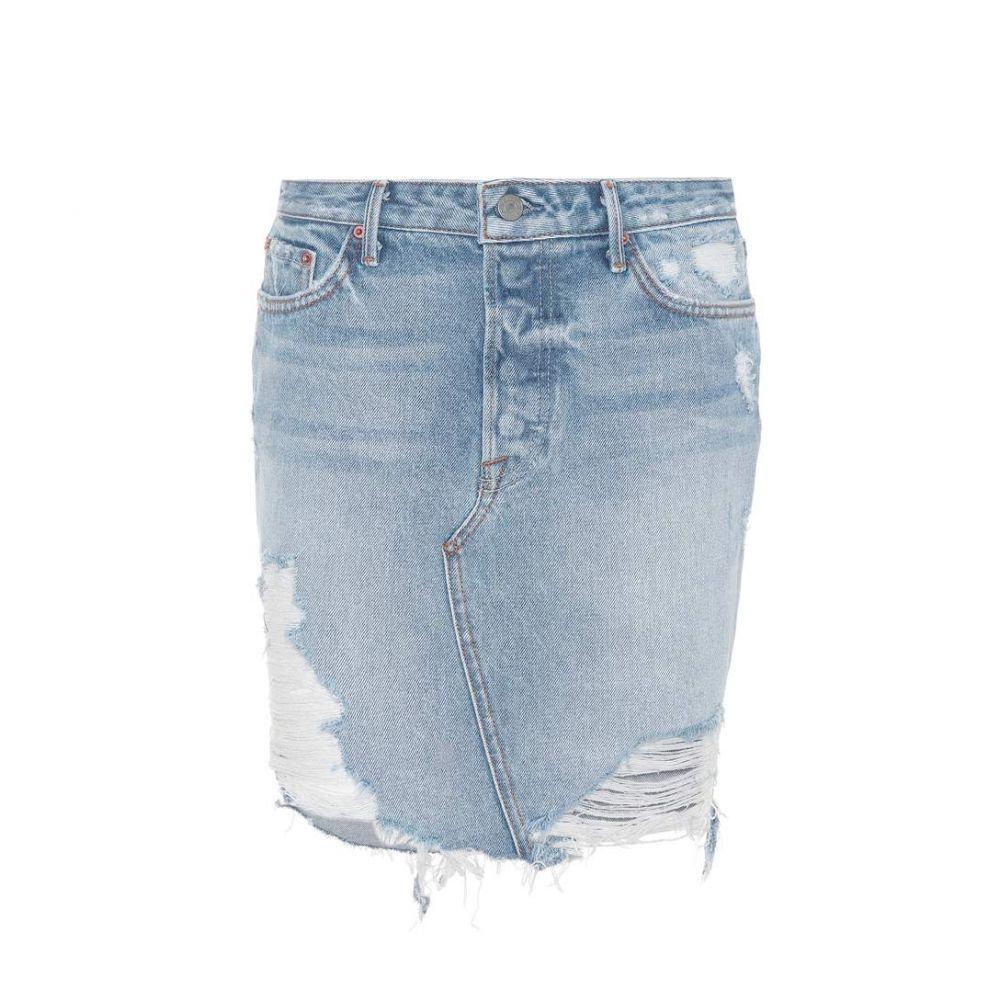ガールフレンズ レディース スカート【Rhoda denim skirt】Lava Bed