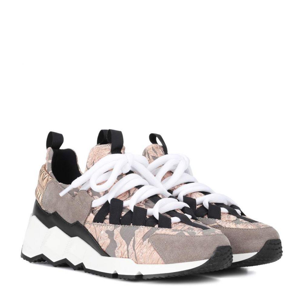 ピエールアルディ レディース シューズ・靴 スニーカー【Trek Comet sneakers】Grey Pink Black