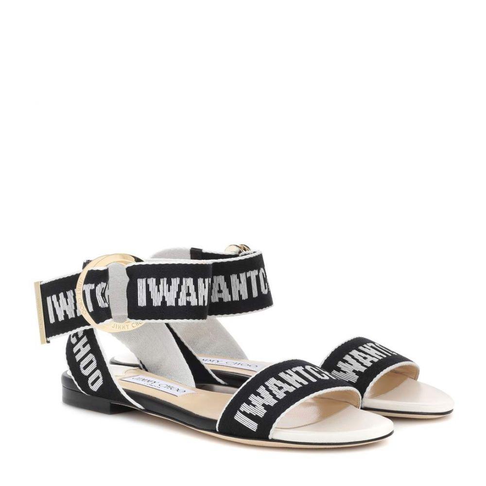 ジミー チュウ レディース シューズ・靴 サンダル・ミュール【Breanne sandals】Black