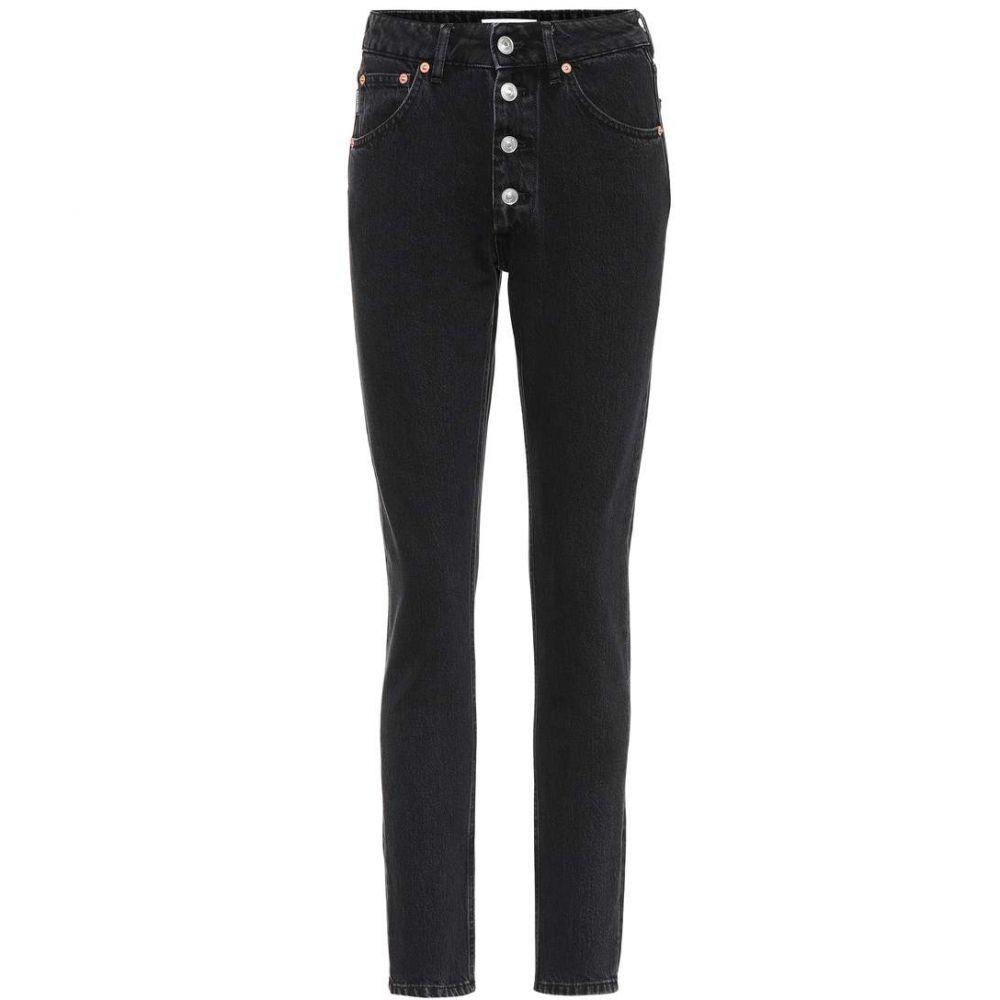 バレンシアガ レディース ボトムス・パンツ ジーンズ・デニム【High-rise jeans】Simple Stonewash