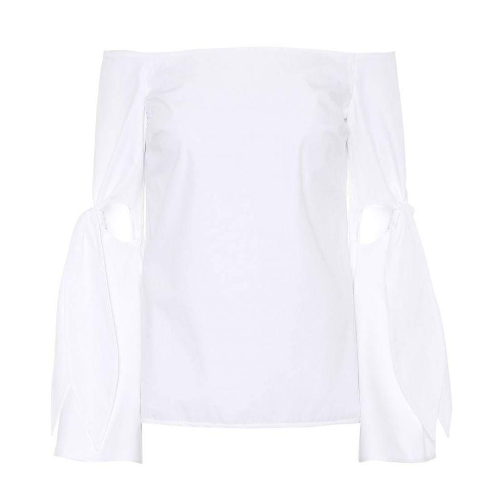 エラリー レディース トップス オフショルダー【Lopez off-the-shoulder top】White