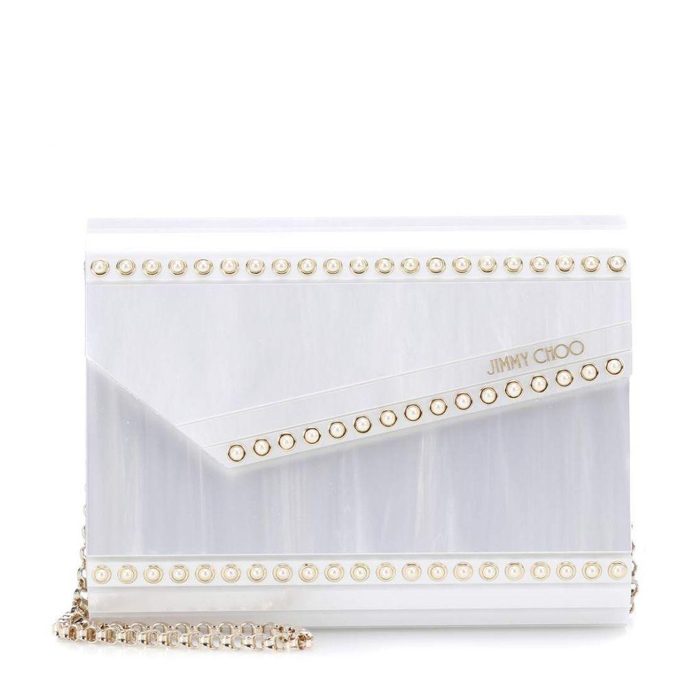 ジミー チュウ レディース バッグ クラッチバッグ【Candy box clutch】Pearl