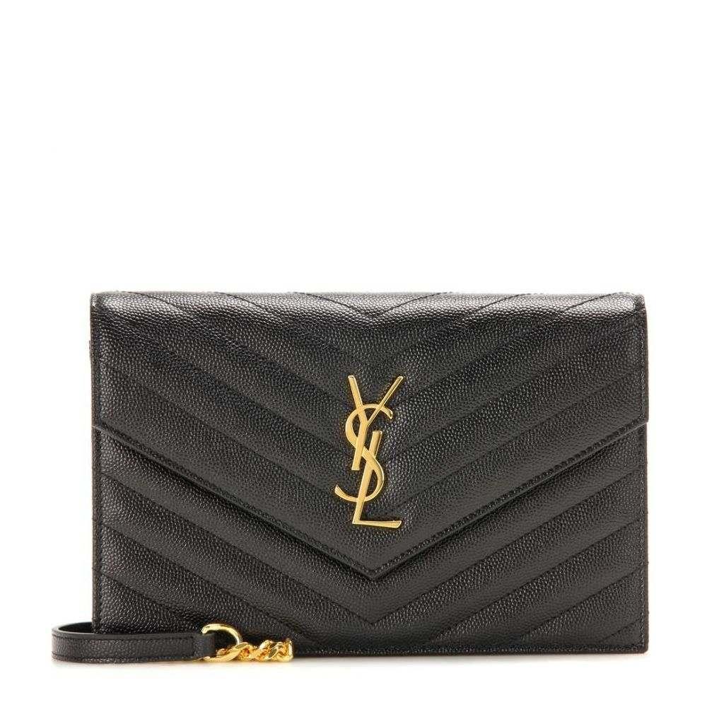 イヴ サンローラン レディース バッグ ショルダーバッグ【Classic Monogram quilted leather shoulder bag】Nero