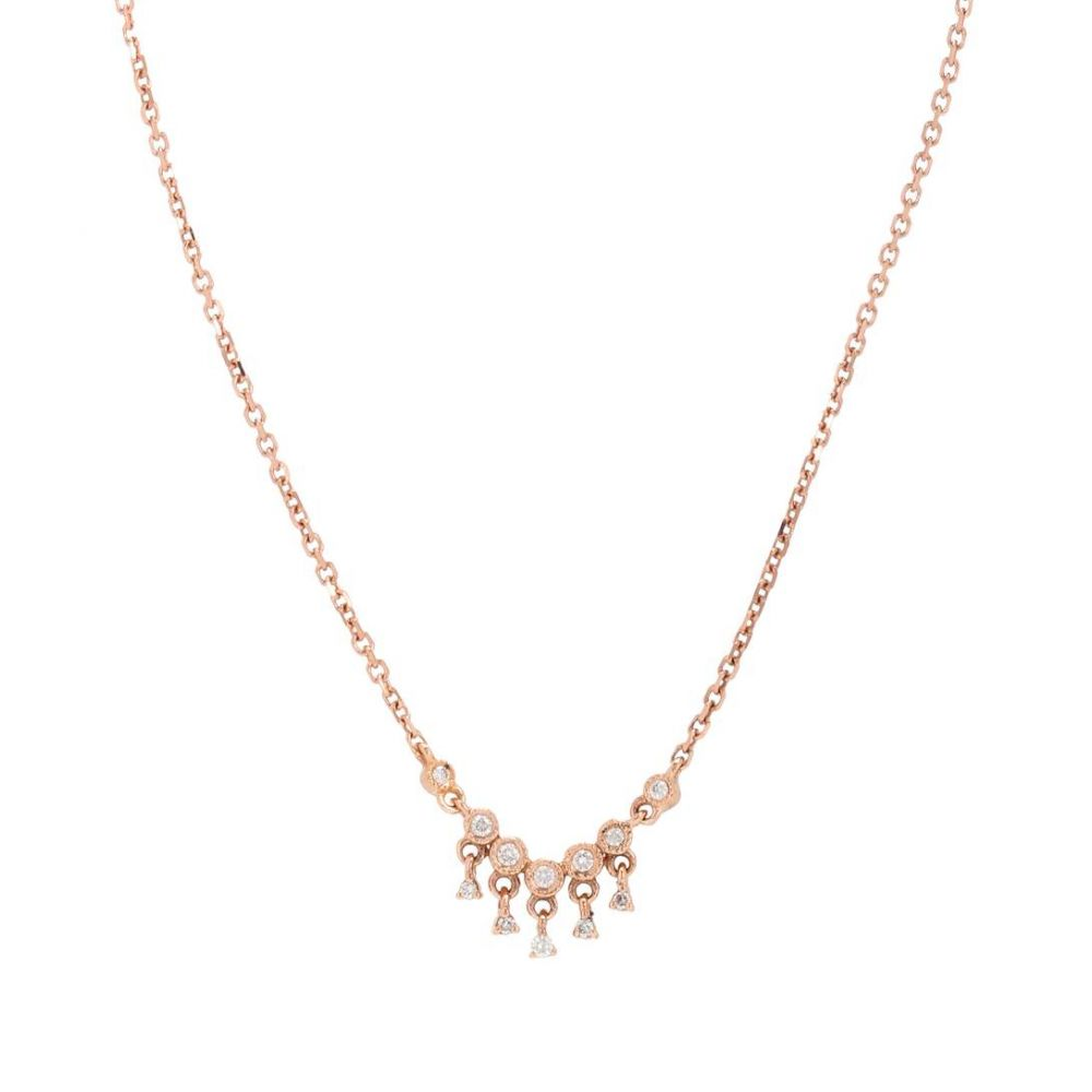 【クーポン対象外】 ストーンパリス 0,04-kt レディース diamonds】 ジュエリー・アクセサリー ネックレス【Talitha Simple necklace necklace in 18-kt rose gold with 0,04-kt diamonds】, BON ETO Vikings:c80edefe --- spotlightonasia.com