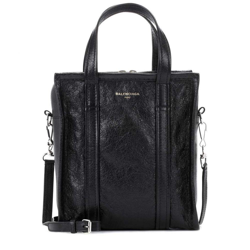 バレンシアガ レディース バッグ トートバッグ【Bazar XS leather shopper】Noir