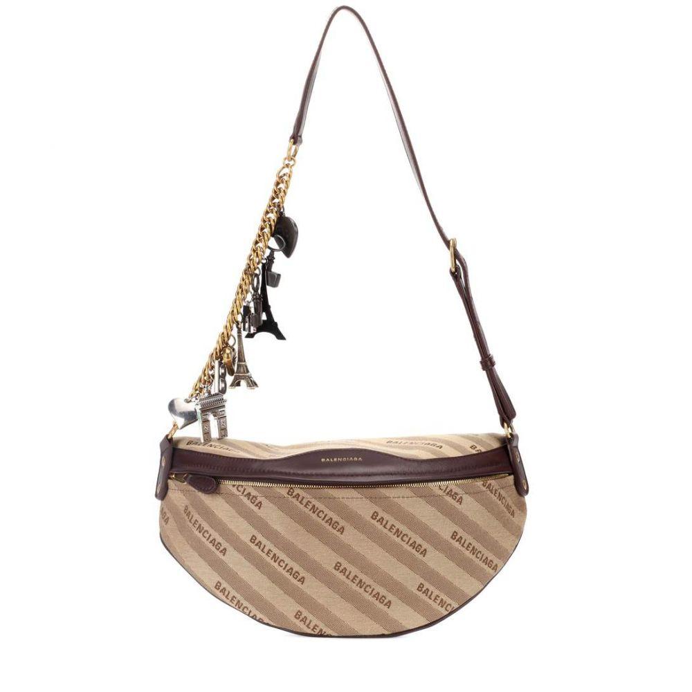 バレンシアガ レディース バッグ ボディバッグ・ウエストポーチ【Souvenir XS belt bag】Beige