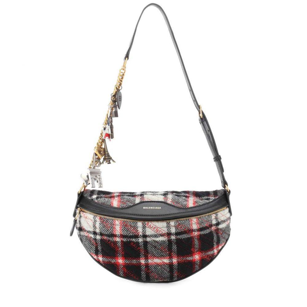 バレンシアガ レディース バッグ ボディバッグ・ウエストポーチ【Souvenir XS belt bag】Noir/Blanc/Rouge