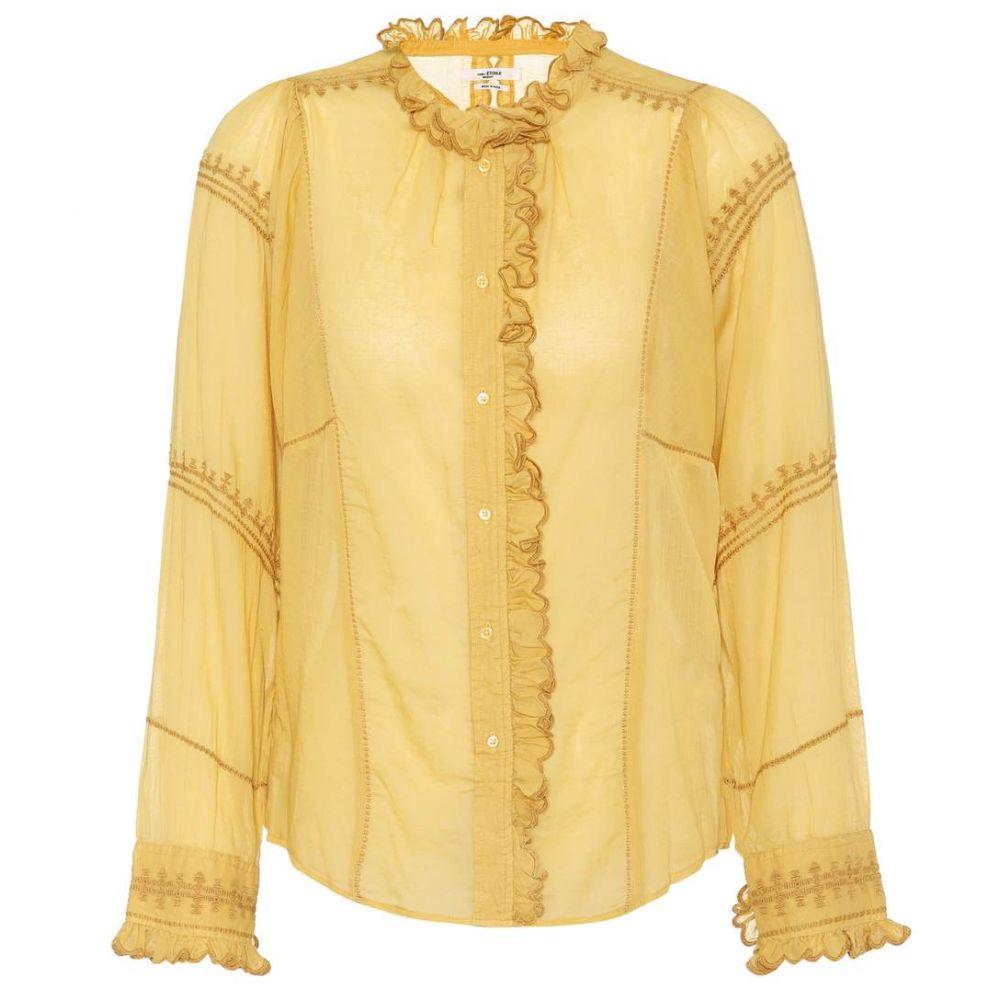 イザベル マラン レディース トップス ブラウス・シャツ【Lauryn cotton shirt】Dusty Yellow