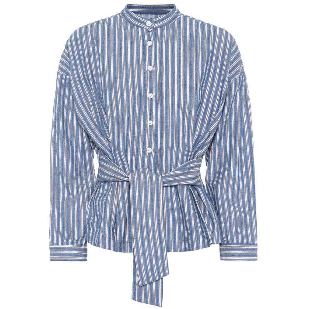 シチズン オブ ヒューマニティ レディース トップス ブラウス・シャツ【Steffy striped cotton blouse】Striped