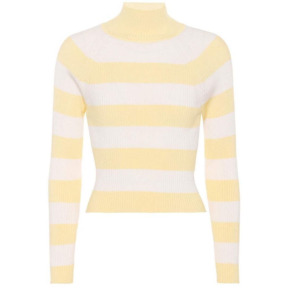 ジマーマン レディース トップス【Whitewave striped ribbed top】Lemon/White