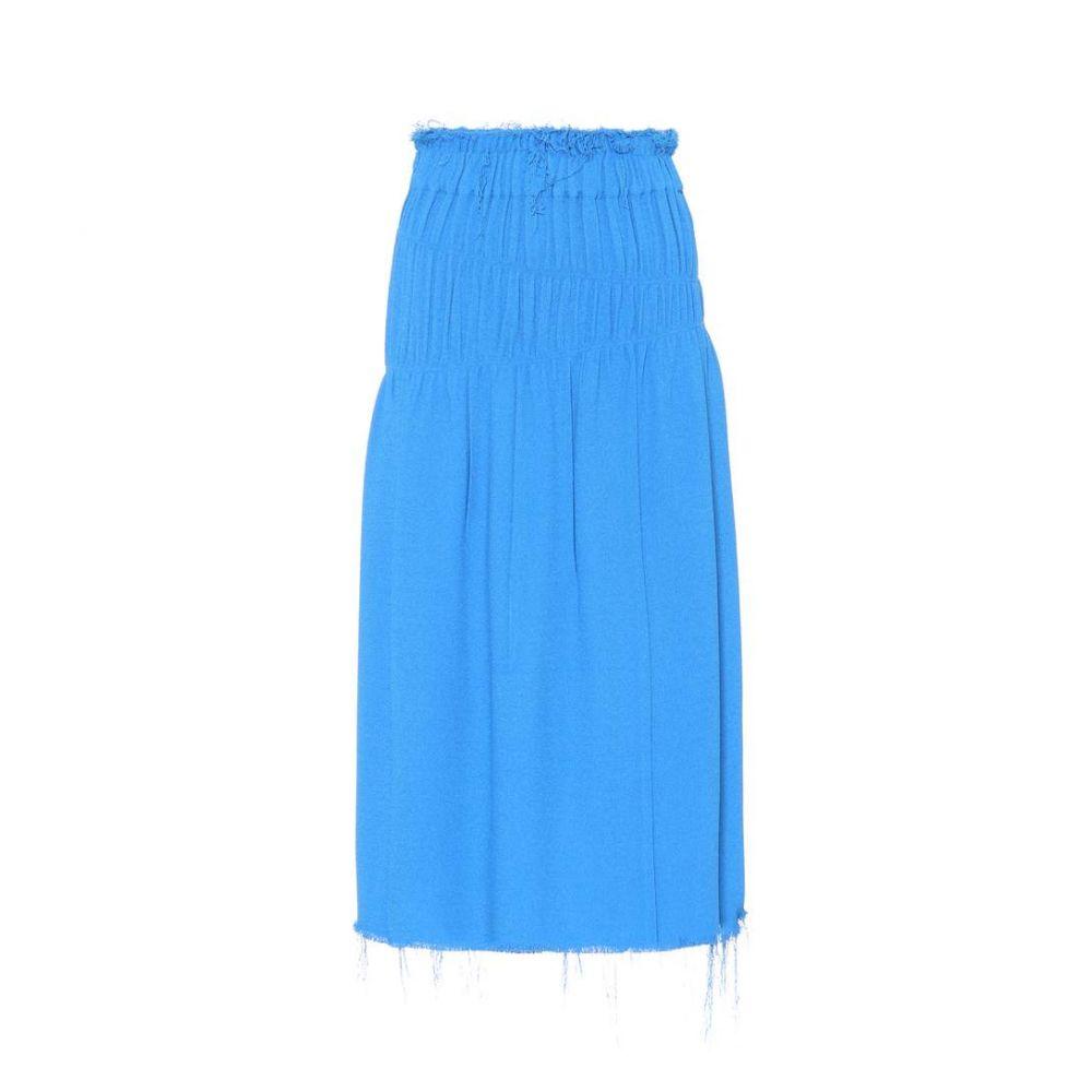 ヘルムート ラング レディース スカート【Ruched skirt】Icy Blue