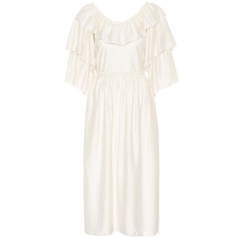 レジーナ ピヨ レディース ワンピース・ドレス ワンピース【Ruby midi dress】Rayon Thin Ivory