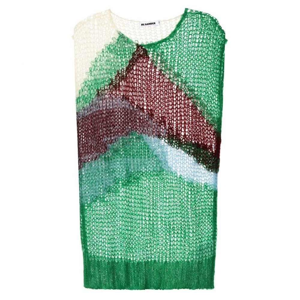 ジル サンダー レディース トップス ベスト・ジレ【Mohair-blend vest】Open Miscellaneous