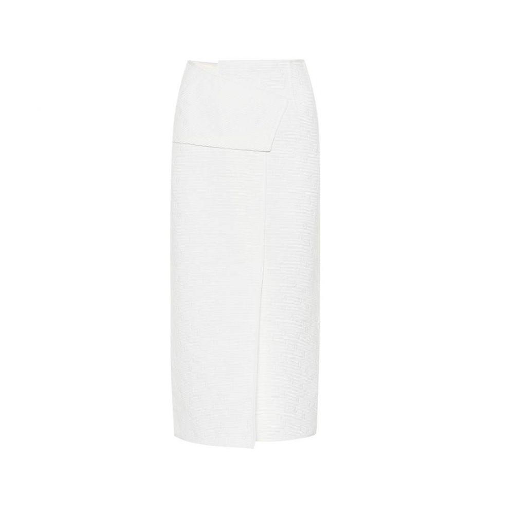 ローラン ムレ レディース スカート【Outwood knitted skirt】White