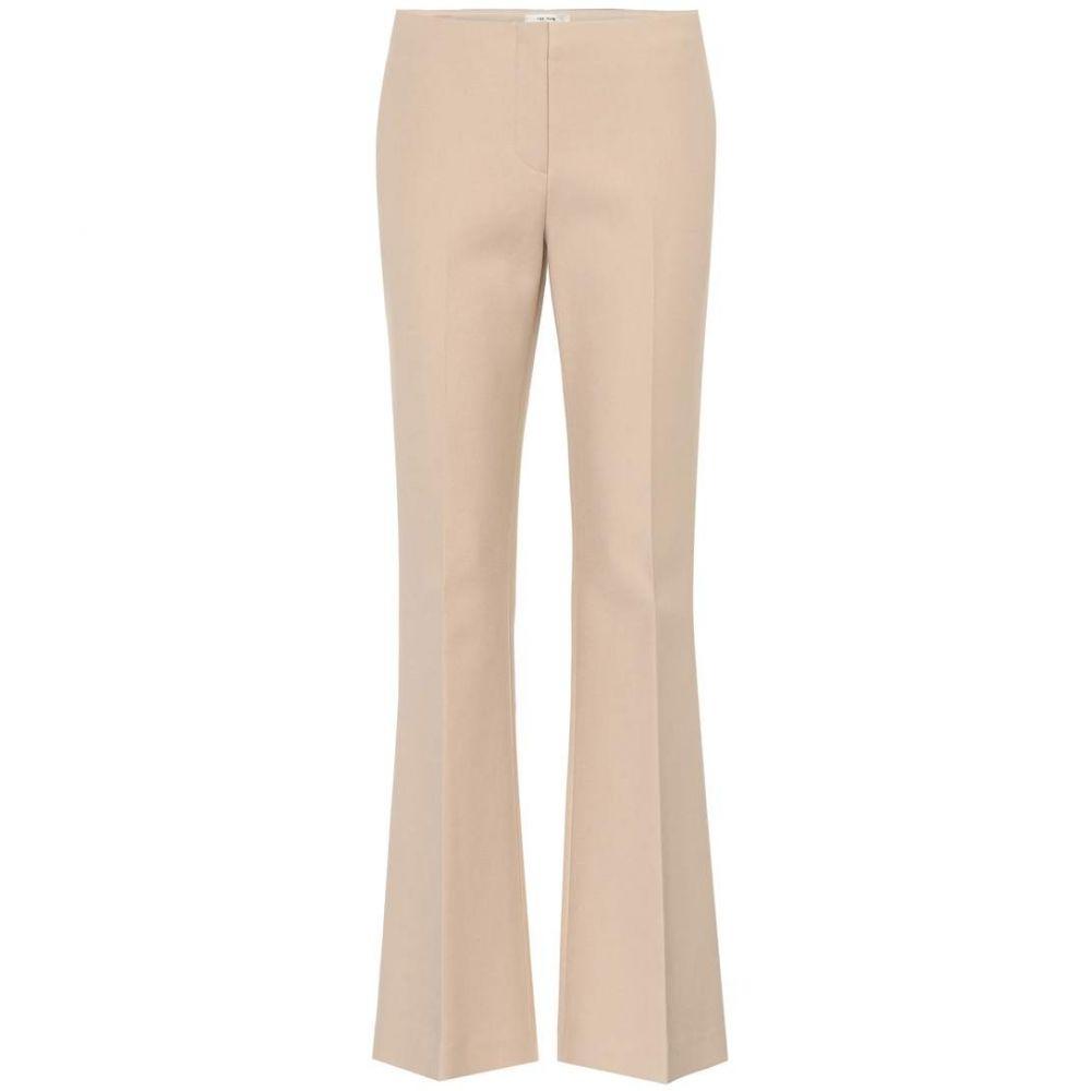 ザ ロウ レディース ボトムス・パンツ【Keith cotton-blend flared trousers】Camel