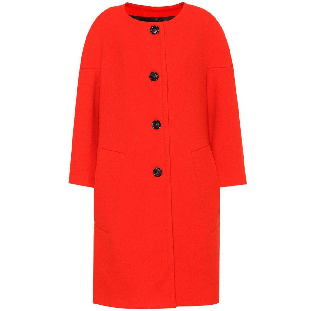 マルニ Marni レディース アウター コート【Wool coat】orange