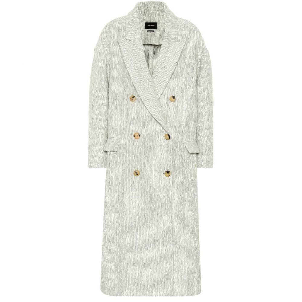 イザベル マラン Isabel Marant レディース アウター コート【Habra alpaca and wool coat】Ecru