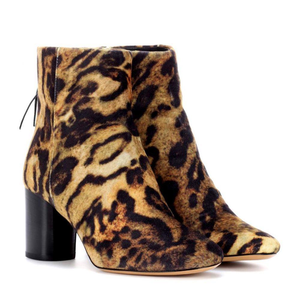 イザベル マラン Isabel Marant レディース シューズ・靴 ブーツ【Ritza leopard-printed ankle boots】Fauve