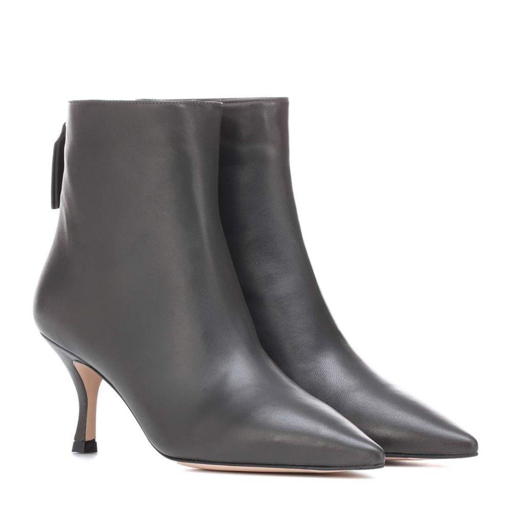 スチュアート ワイツマン Stuart Weitzman レディース シューズ・靴 ブーツ【Juniper 70 leather ankle boots】Asphalt