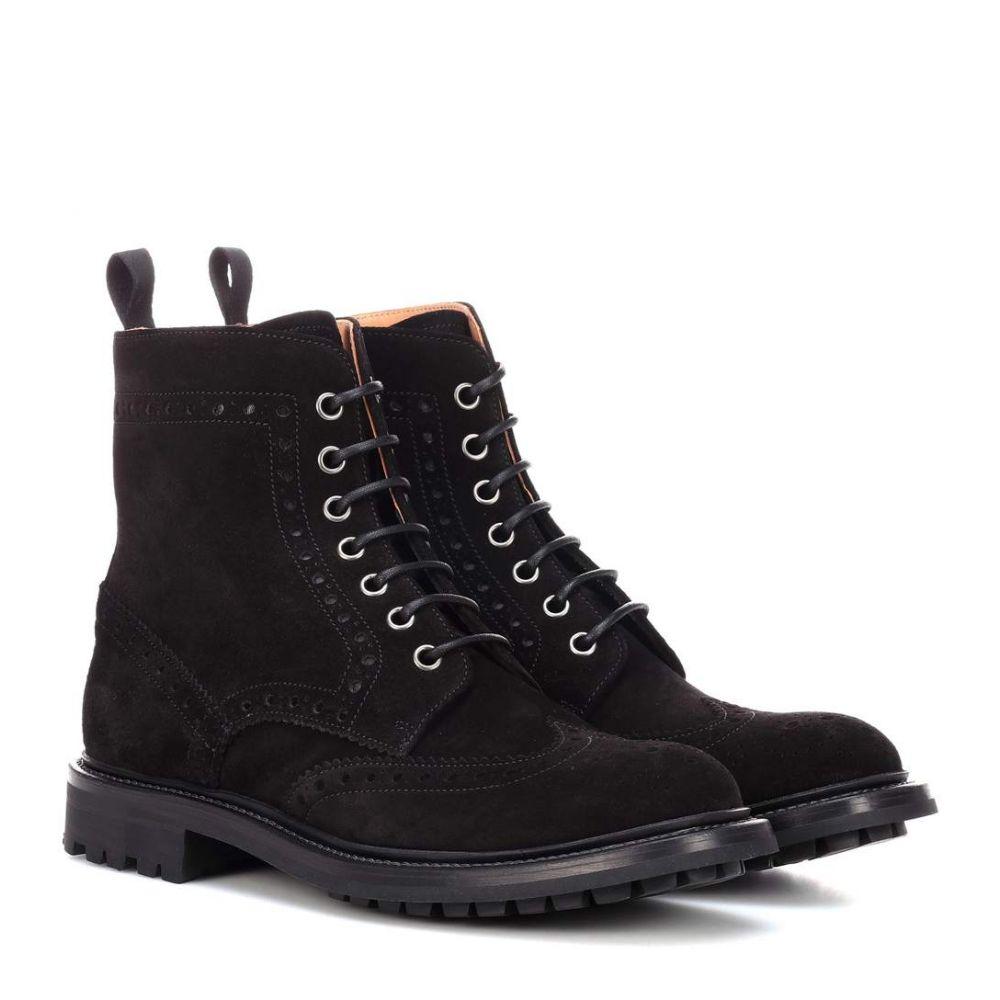 チャーチ Church's レディース シューズ・靴 ブーツ【Angelina suede ankle boots】Black