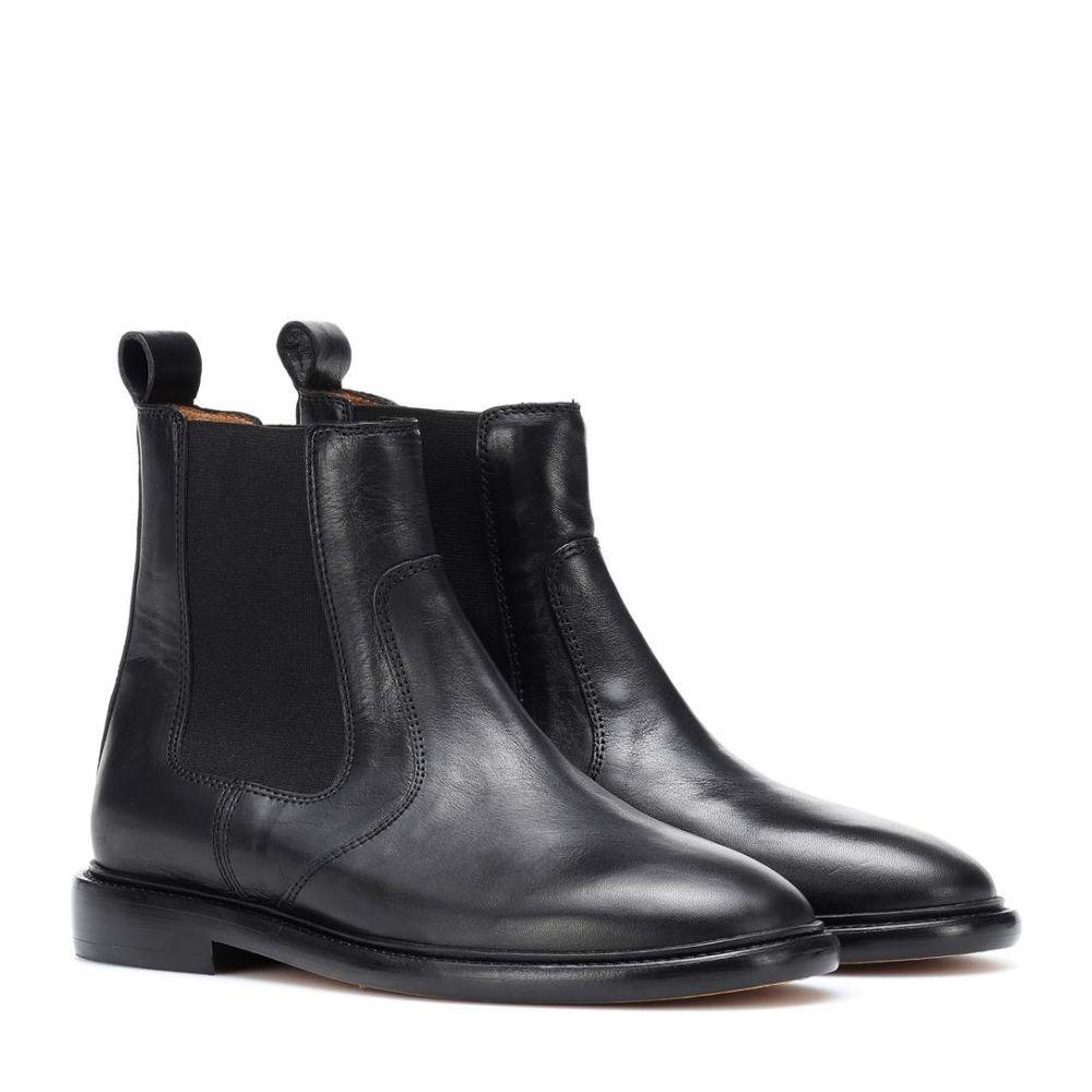 イザベル マラン Isabel Marant レディース シューズ・靴 ブーツ【Chelay leather Chelsea boots】Black