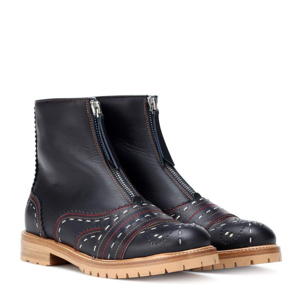 ガブリエラ ハースト Gabriela Hearst レディース シューズ・靴 ブーツ【Mercela ankle boots】Dark Navy