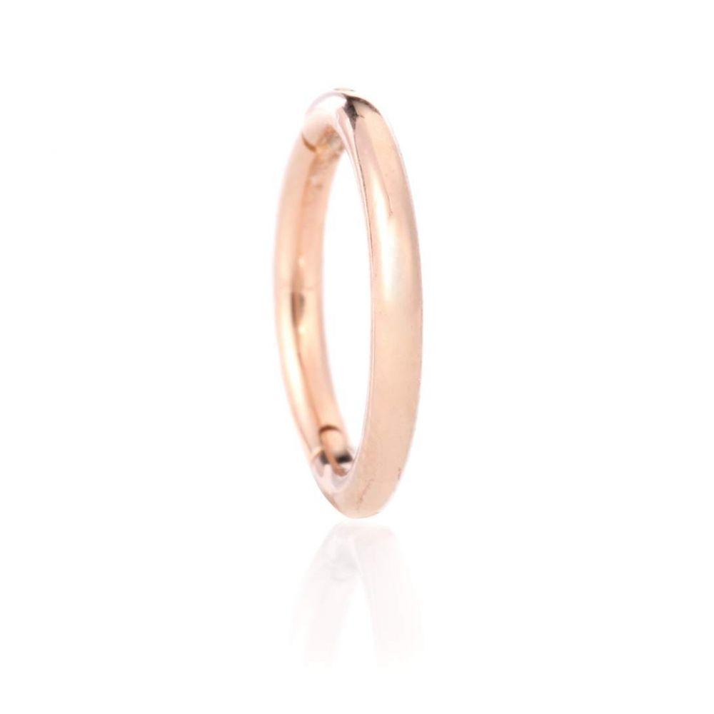 マリアタシュ Maria Tash レディース ジュエリー・アクセサリー イヤリング・ピアス【Plain Ring 14kt rose gold earring】