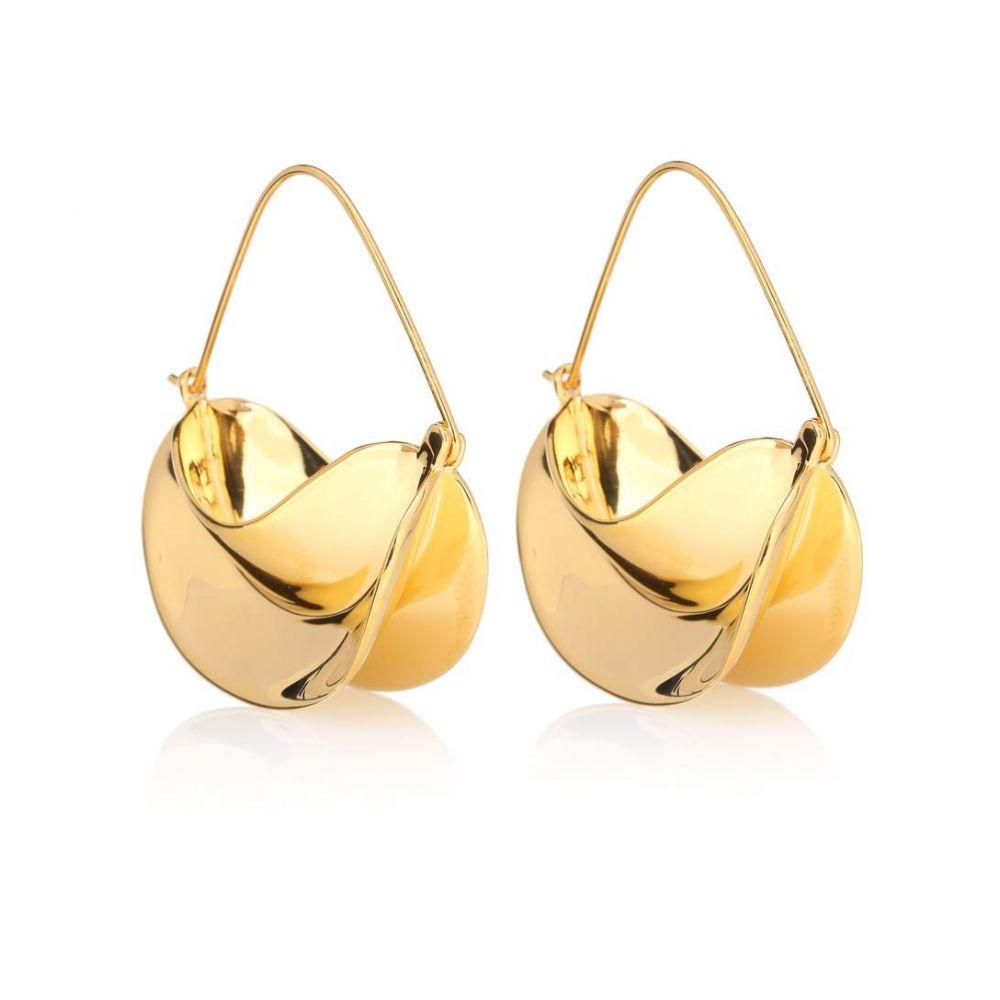 アニサ ケルミチェ Anissa Kermiche レディース ジュエリー・アクセサリー イヤリング・ピアス【Paniers Dores 18kt gold-plated earrings】