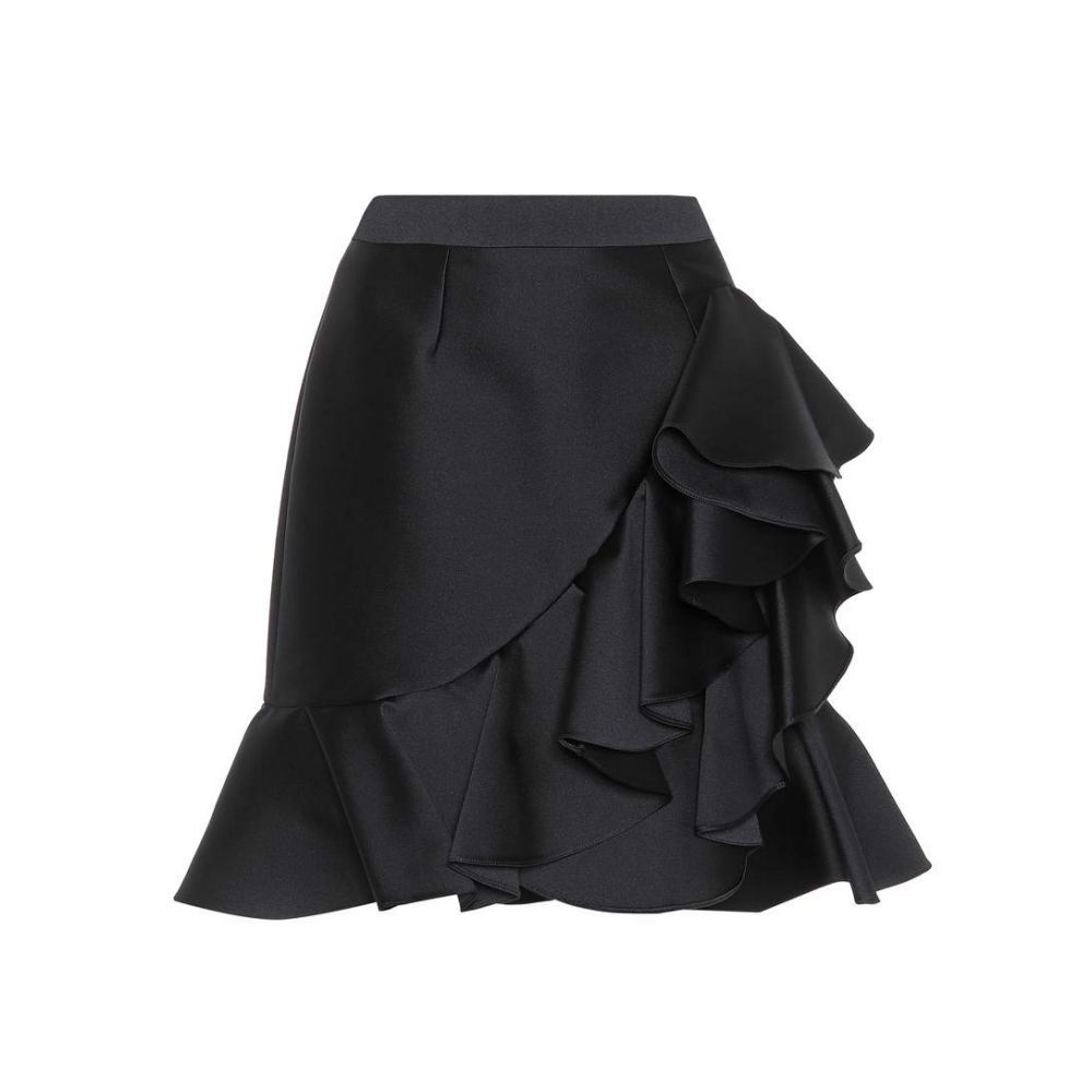 ステラ マッカートニー Stella McCartney レディース スカート【Cotton and silk-blend skirt】Black