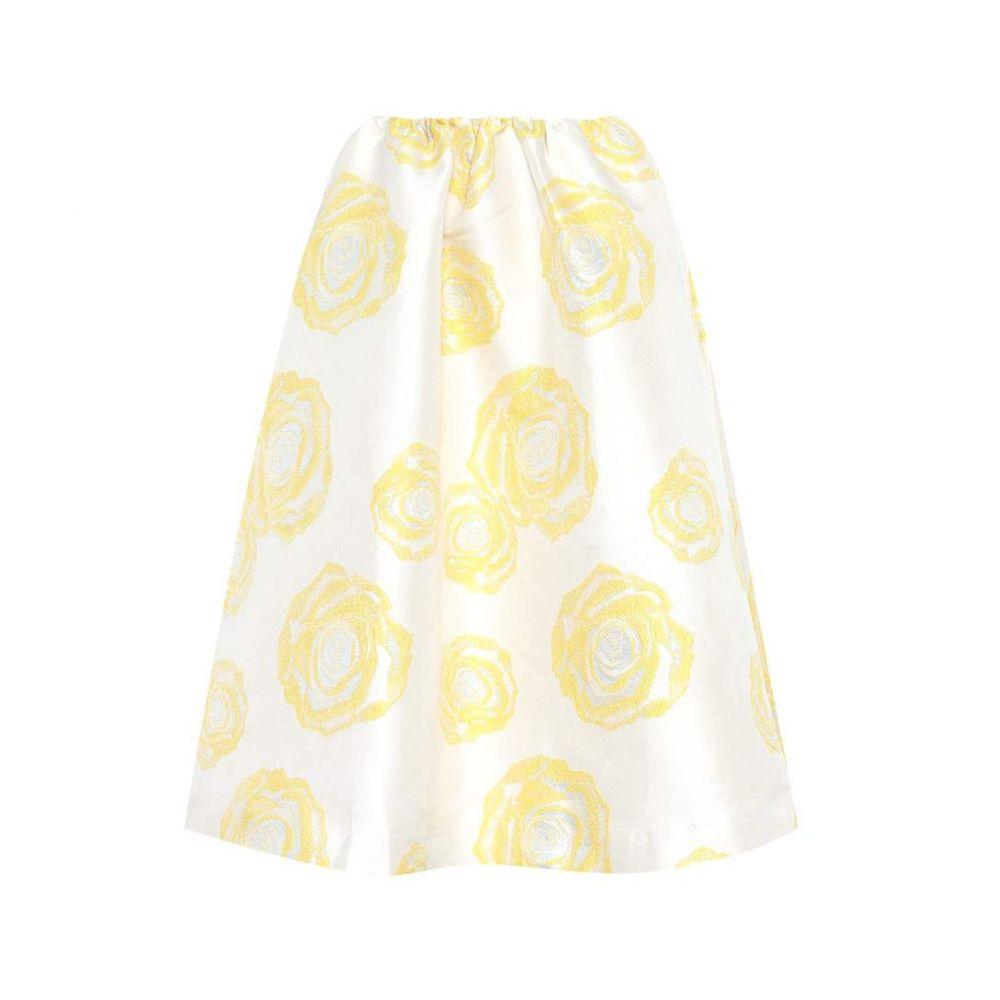 ガニー Ganni レディース スカート【Turenne floral-jacquard skirt】Vanilla Ice