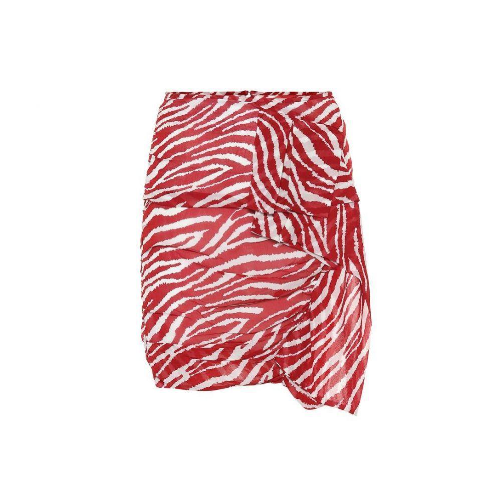 イザベル マラン Isabel Marant, Etoile レディース スカート ミニスカート【Jerine printed georgette miniskirt】Red