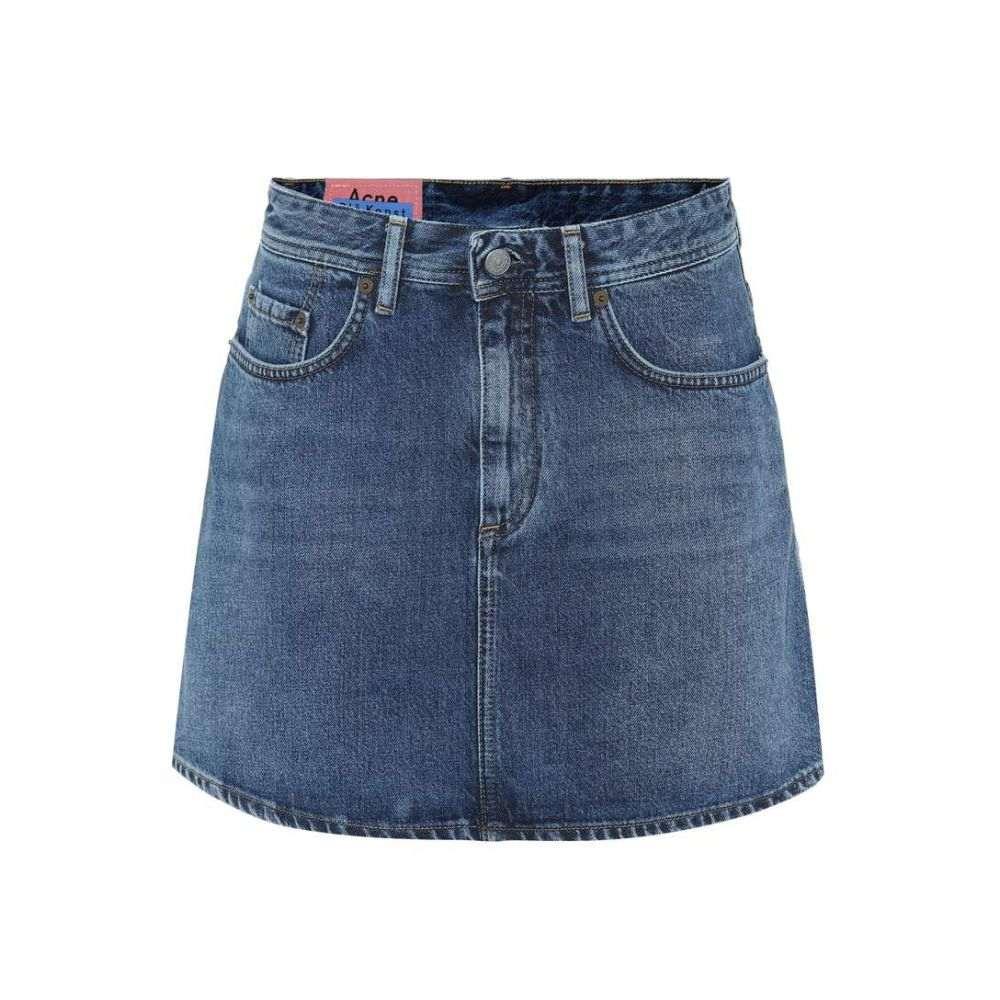 アクネ ストゥディオズ Acne Studios レディース スカート ミニスカート【Bla Konst denim miniskirt】mid blue