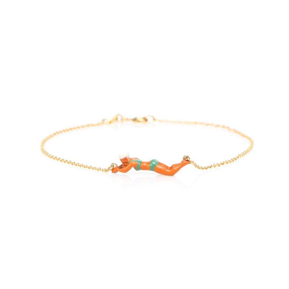 アリータ Aliita レディース ジュエリー・アクセサリー ブレスレット【Nadadora Bikini 9kt gold bracelet】