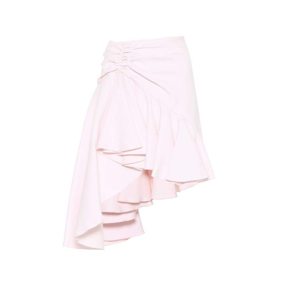 ジャンバティスタ バリ Giambattista Valli レディース スカート ミニスカート【Ruffled crepe miniskirt】Rose