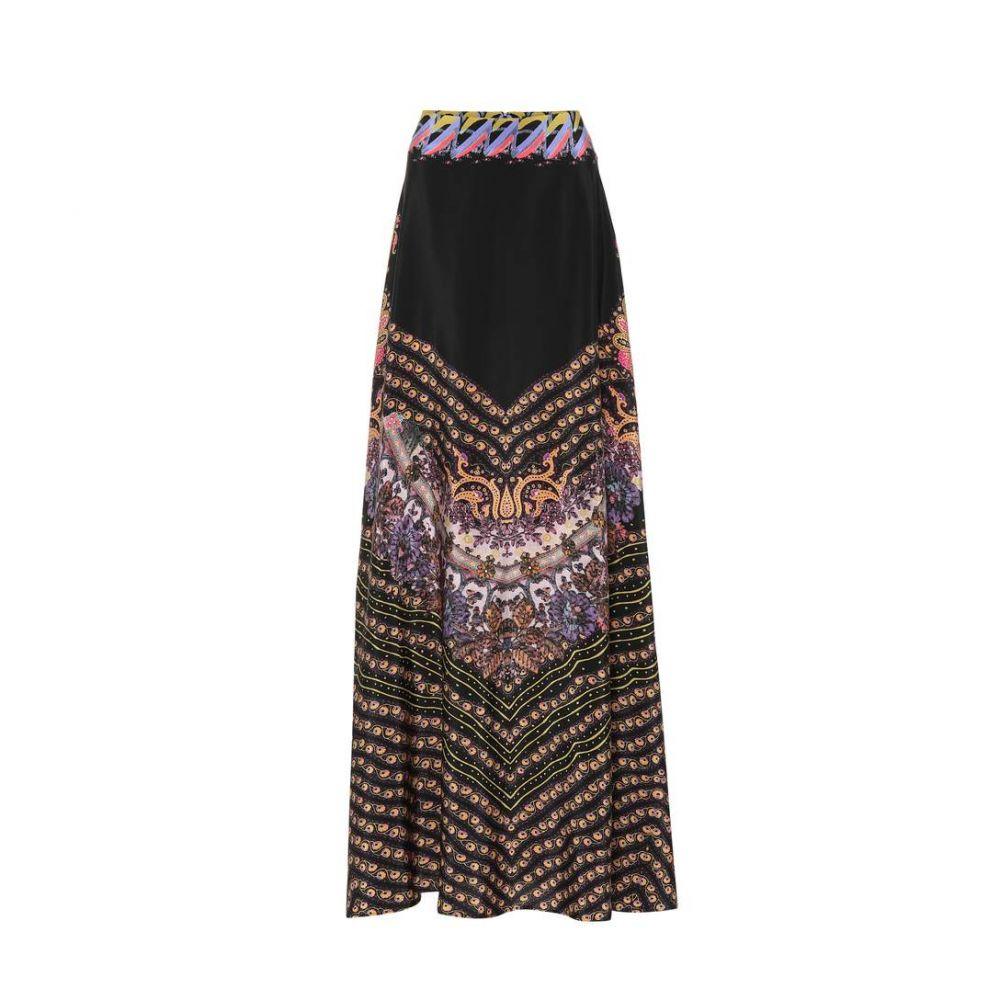 エトロ Etro レディース スカート ロング・マキシ丈スカート【Printed silk maxi skirt】