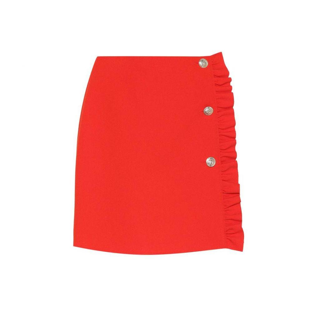 エムエスジーエム MSGM レディース スカート ミニスカート【Crepe miniskirt】Red