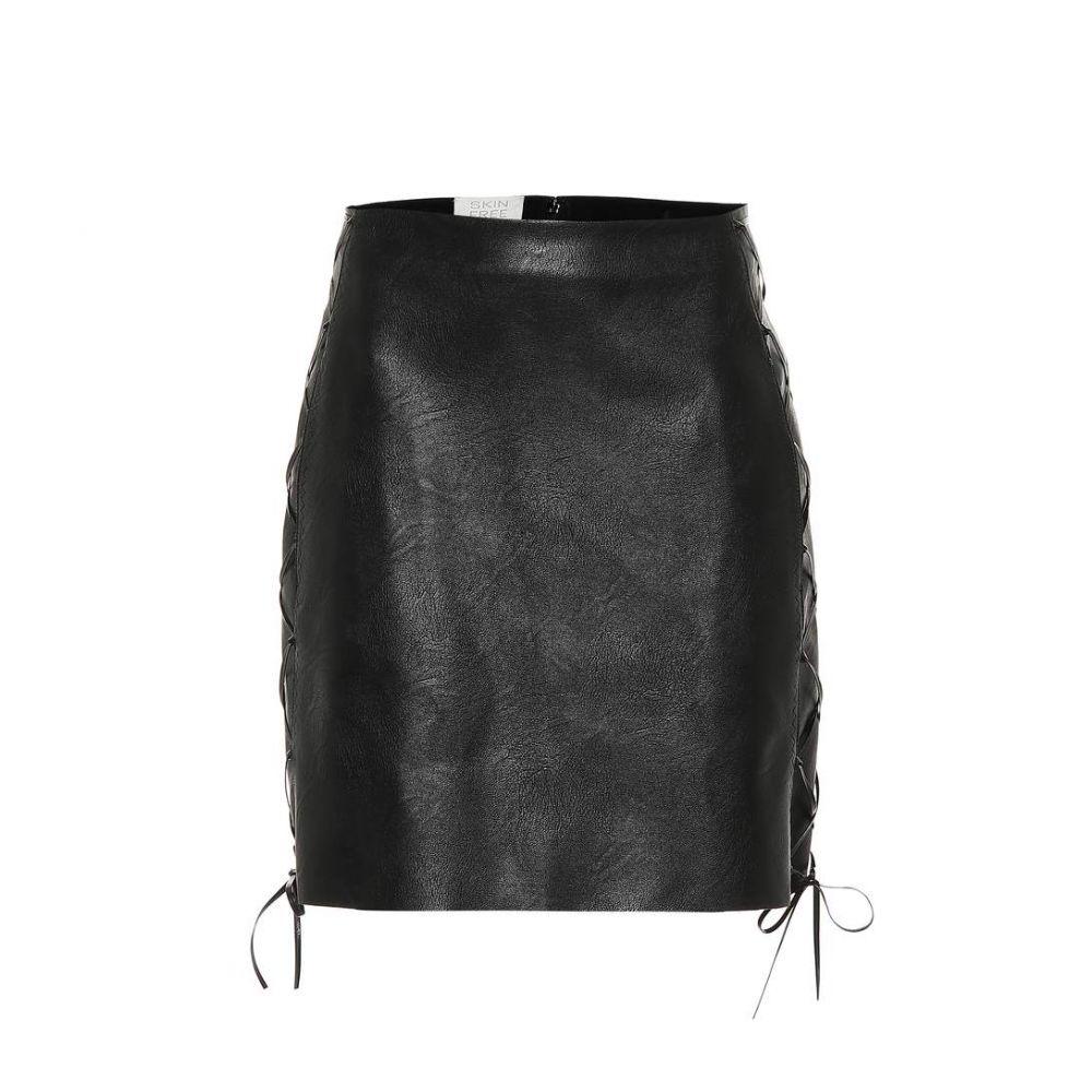ステラ マッカートニー Stella McCartney レディース スカート ミニスカート【Faux leather miniskirt】black