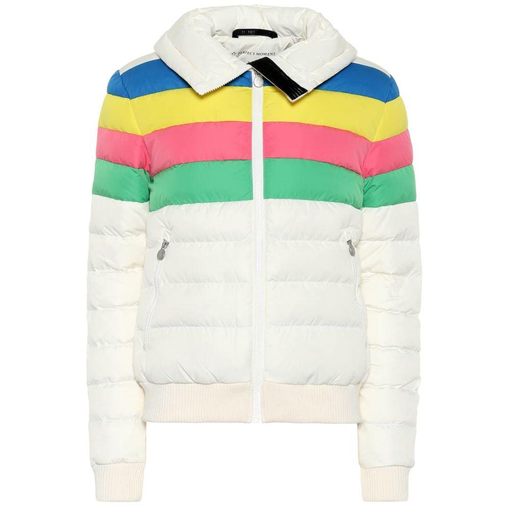 パーフェクト モーメント Perfect Moment レディース スキー・スノーボード アウター【Queenie padded ski jacket】white rainbow