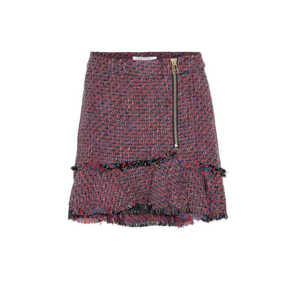 ヴェロニカ ベアード Veronica Beard レディース スカート ミニスカート【Madra tweed miniskirt】Red Multi