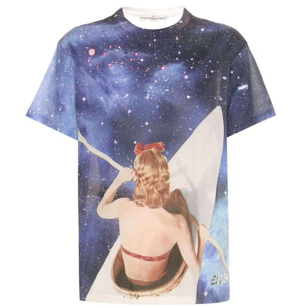 ゴールデン グース Golden Goose Deluxe Brand レディース トップス Tシャツ【Galaxy printed cotton T-shirt】Galaxy Print