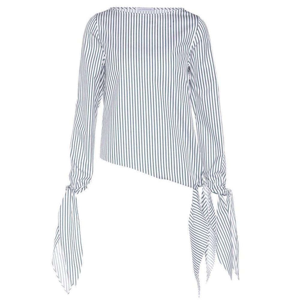 J.W.アンダーソン JW Anderson レディース トップス【striped cotton top】Shamrock Stripe