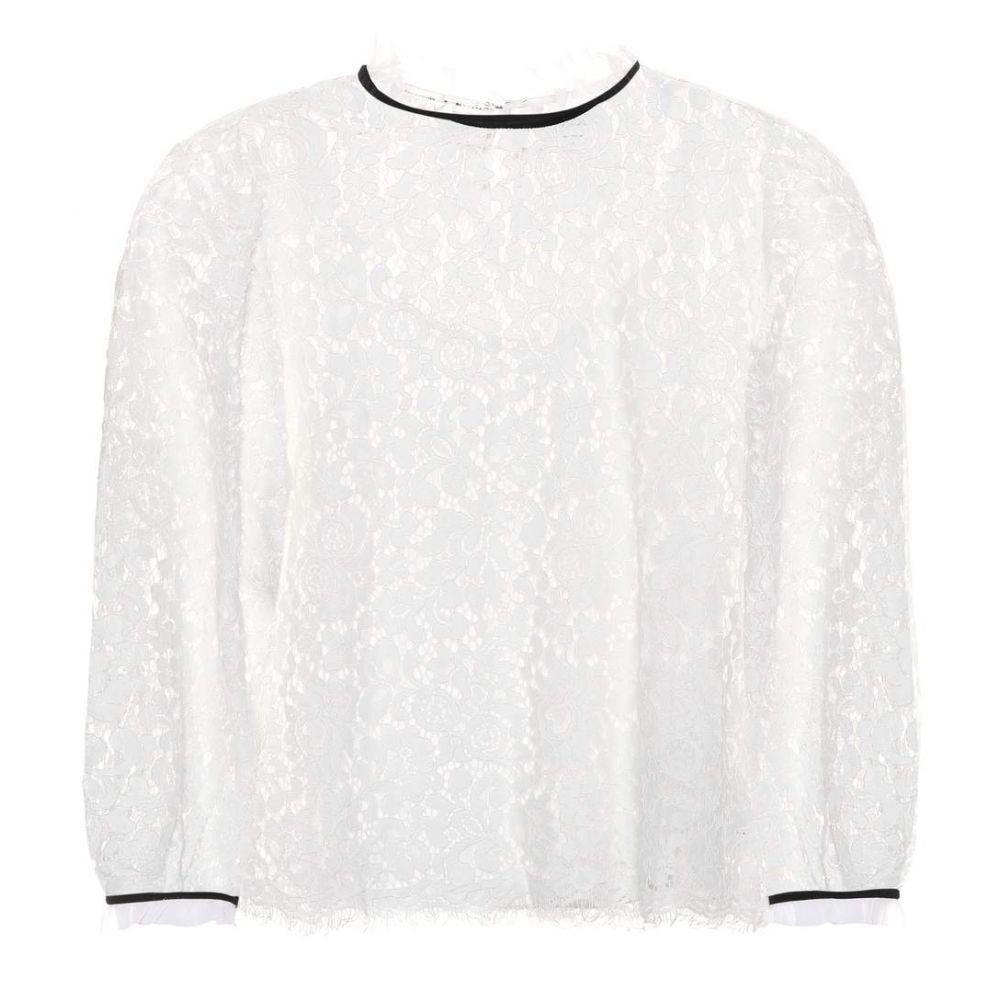 ベルベット グラハム&スペンサー Velvet レディース トップス【Ilise lace top】Cream