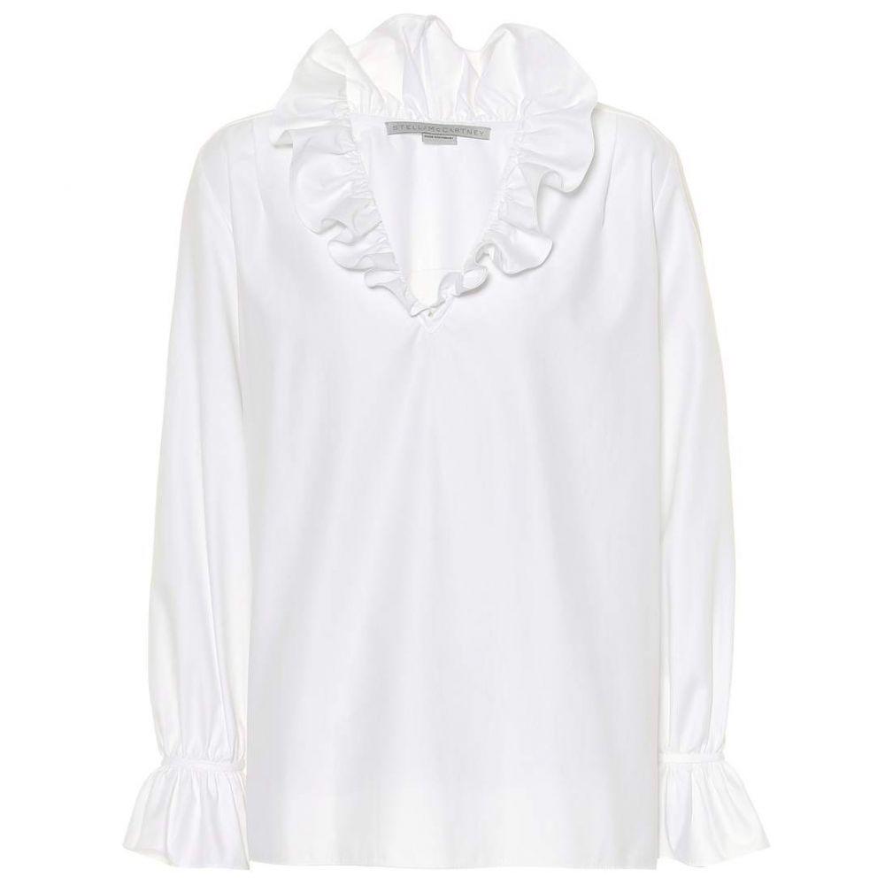 ステラ マッカートニー Stella McCartney レディース トップス【Mariana cotton top】Pure White