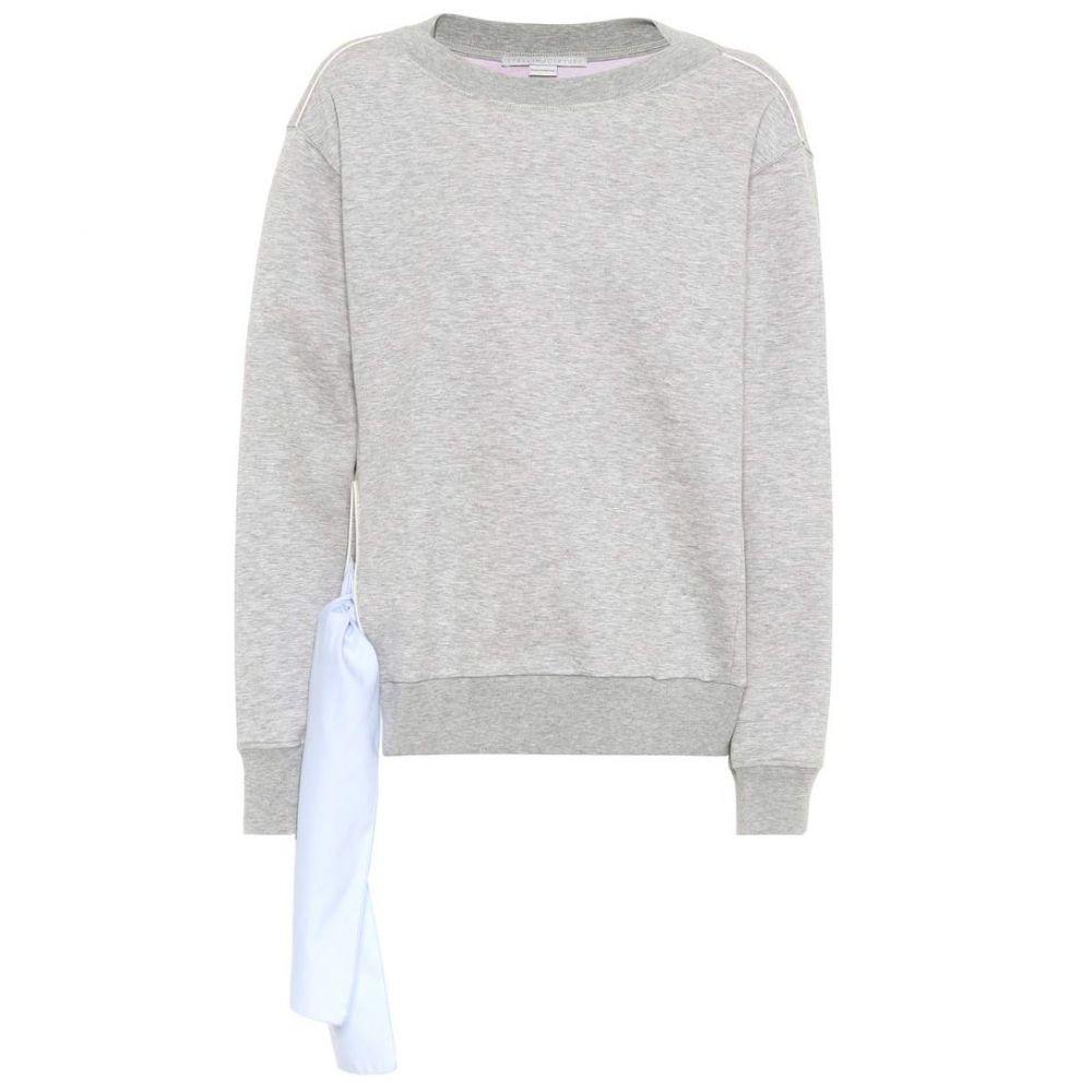 ステラ マッカートニー Stella McCartney レディース トップス ニット・セーター【Cotton-blend sweater】Grey Melange