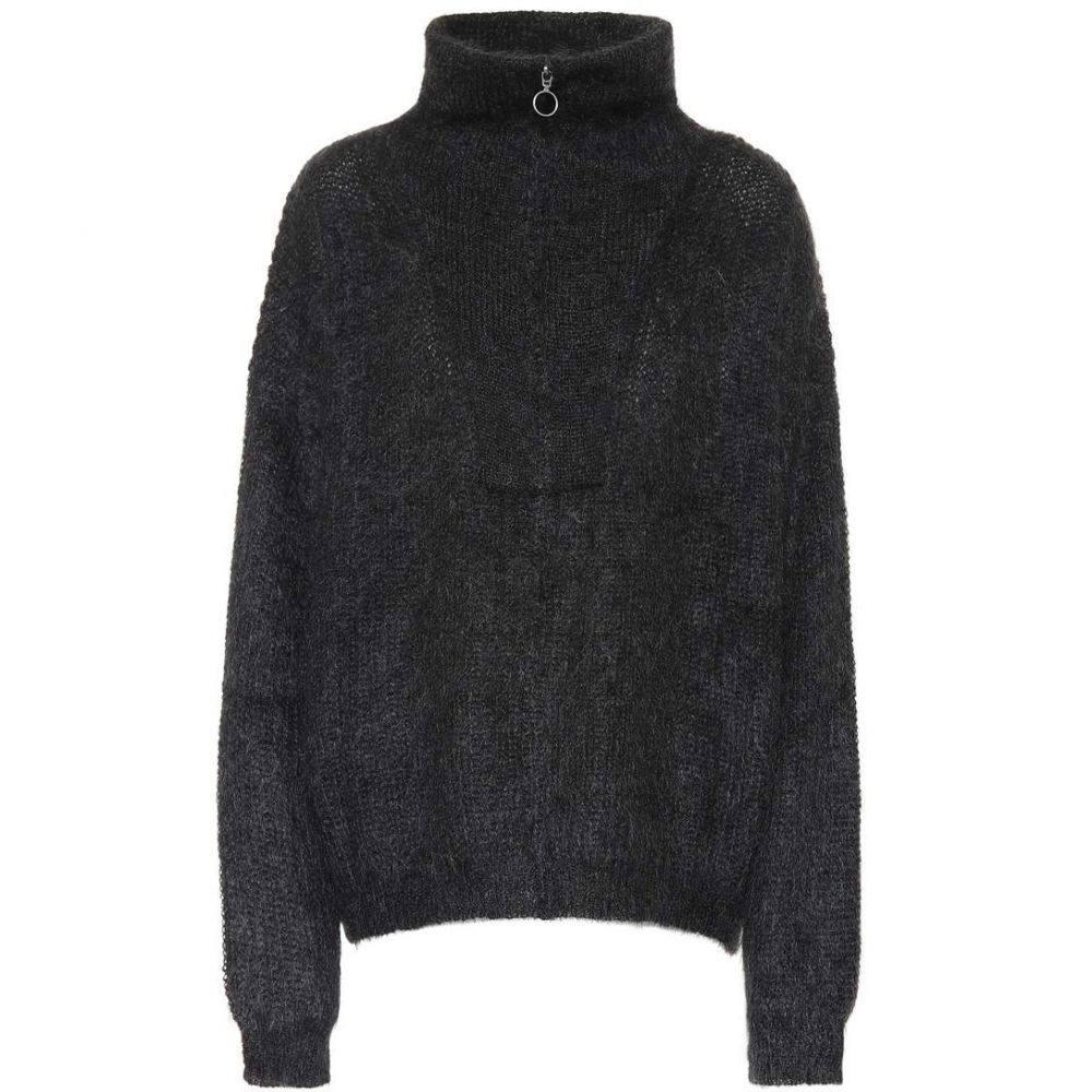 イザベル マラン Isabel Marant, Etoile レディース トップス ニット・セーター【Cyclan mohair-blend sweater】Faded Black