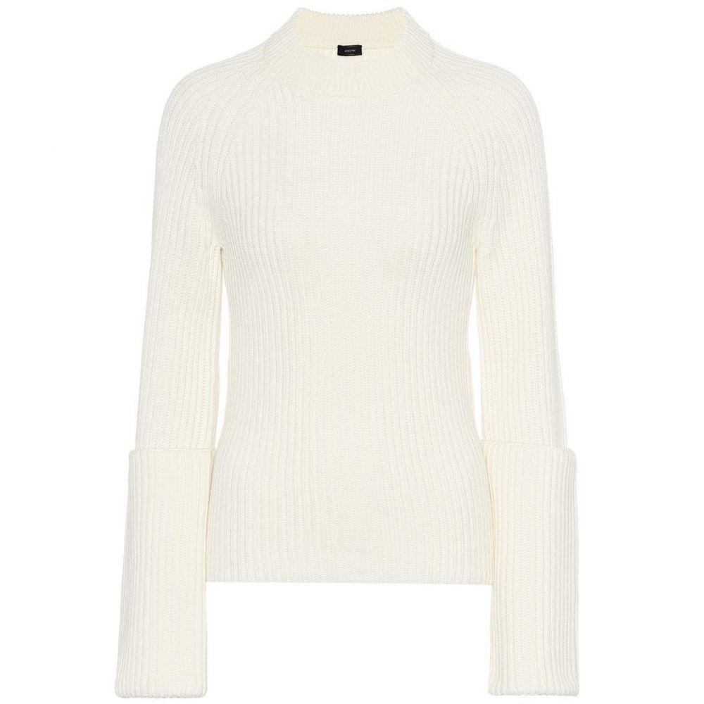 ジョゼフ Joseph レディース トップス ニット・セーター【Ribbed wool sweater】cream