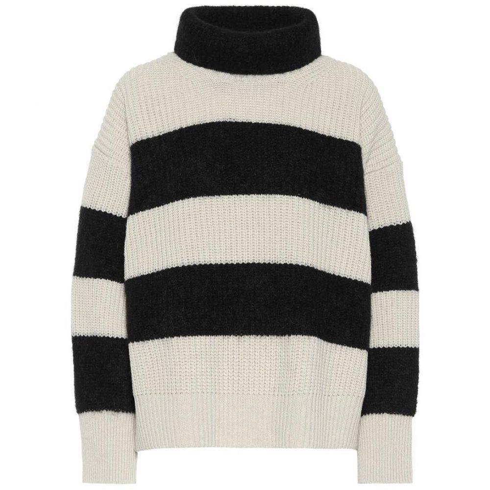 ドロシー シューマッハ Dorothee Schumacher レディース トップス ニット・セーター【Cosy Cool mohair-blend sweater】Black & white stripes