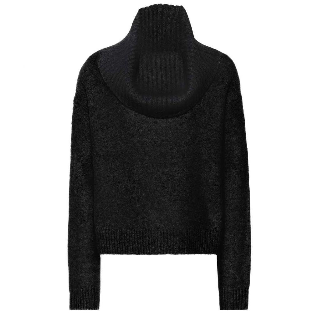 アクネ ストゥディオズ Acne Studios レディース トップス ニット・セーター【Cowl-neck mohair-blend sweater】Black