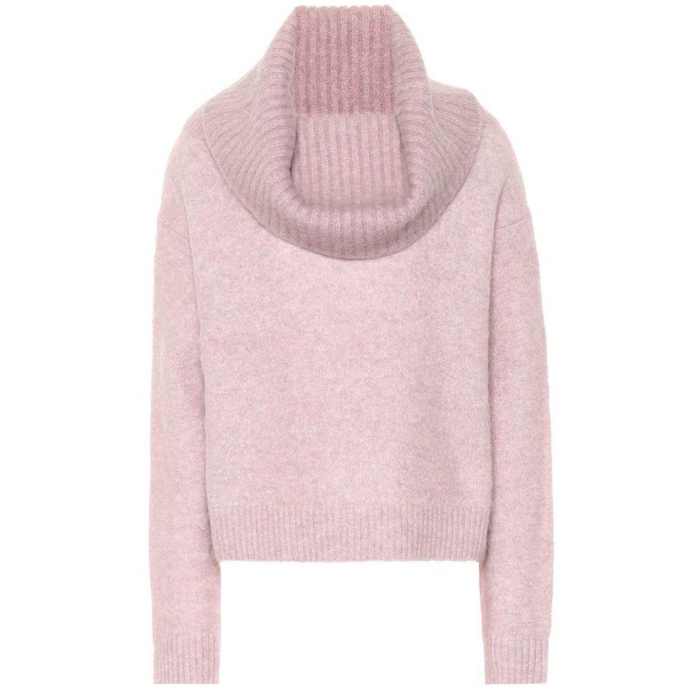 アクネ ストゥディオズ Acne Studios レディース トップス ニット・セーター【Cowl-neck mohair-blend sweater】Powder Pink