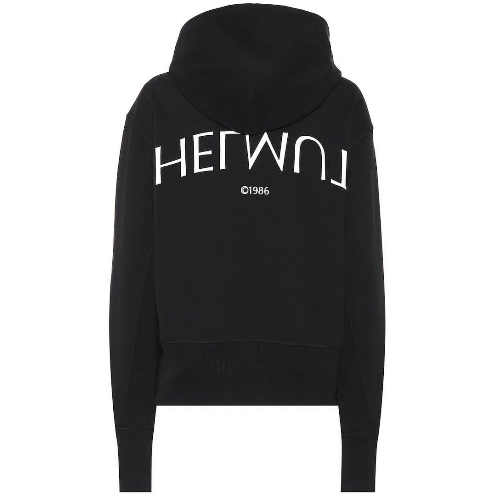 ヘルムート ラング Helmut Lang レディース トップス ニット・セーター【Printed cotton sweater】Black